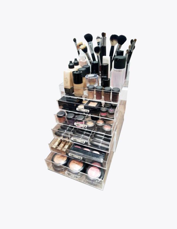 Kardashian style Make-up Organizer Clear Cube  lades