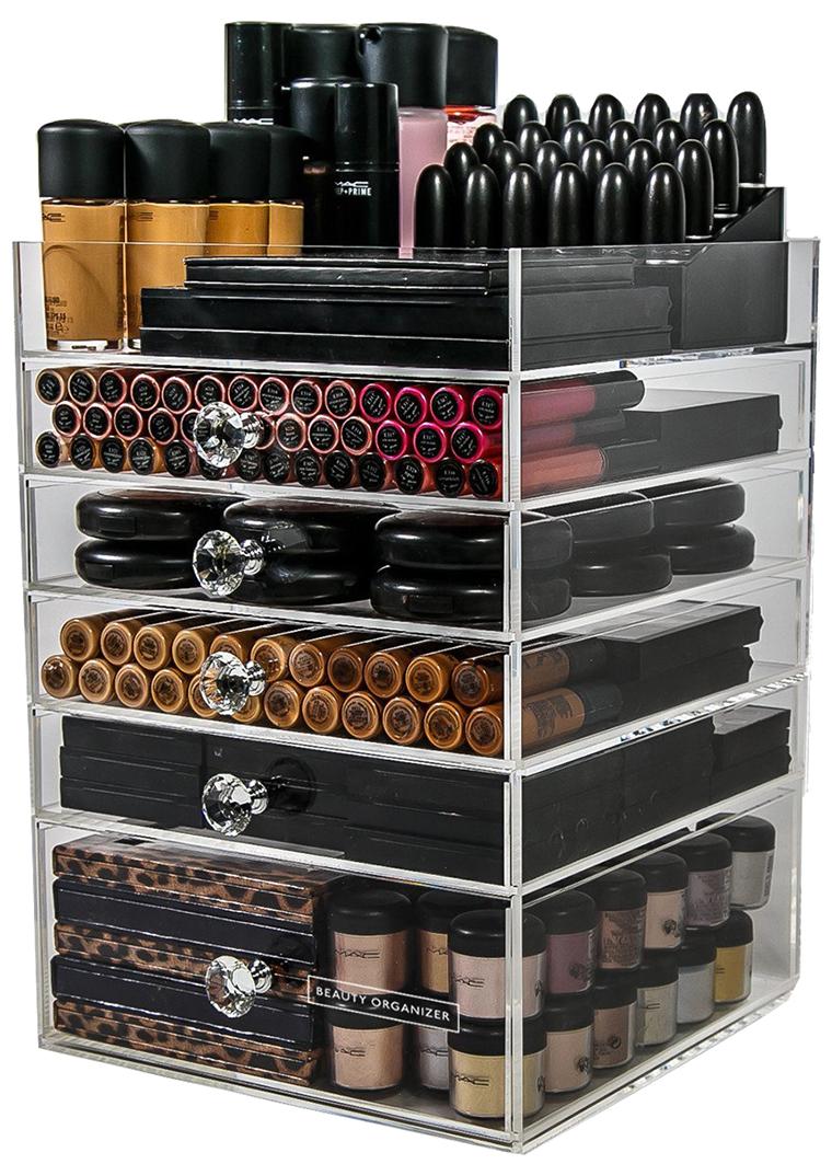 Premium Acrylic Makeup Organizers